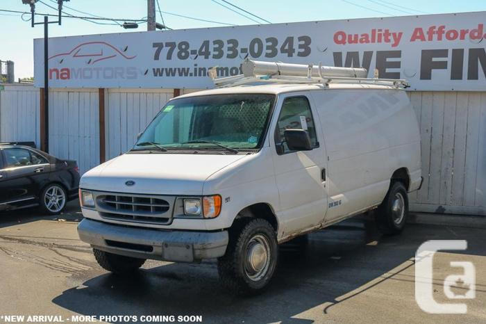 2000 Ford E250 Econoline Cargo Van - LOCAL BC VEHICLE! for