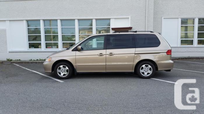 2000 honda odyssey ex 7 passenger auto gold for sale in. Black Bedroom Furniture Sets. Home Design Ideas
