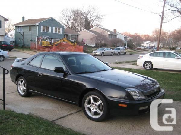 2000 Honda Prelude -- black/black - $5900