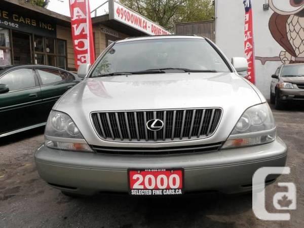 2000 Lexus RX 300 - 95