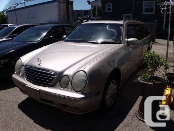 2000 mercedes e320 4 matic wagon for sale in toronto for 2000 mercedes benz e320 wagon