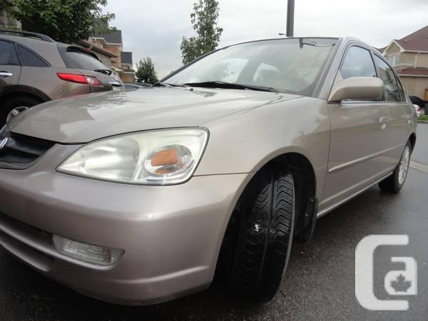 2001 Acura 1.7 EL Premium Automatic 170000KM Certified