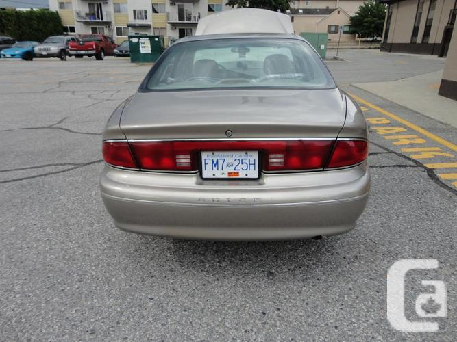 2001 BUICK CENTURY ONE OWNER