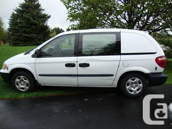 2001 Dodge caravan,cargo van,work van.only 97000 KM,AC