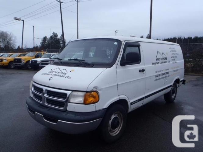2001 dodge ram van 2500 127 wb for sale in burnaby. Black Bedroom Furniture Sets. Home Design Ideas