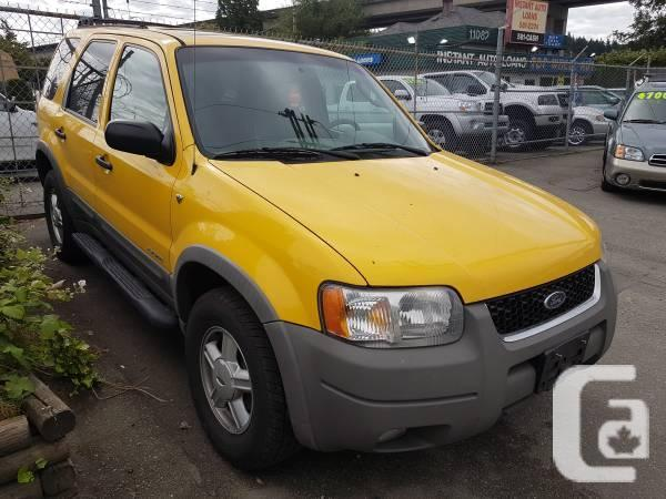 2001 Ford Escape XLT, 4X4, 185K's with Free