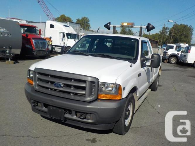 2001 Ford F-250 Sd 2wd XL SuperCab Long Bed With Dump