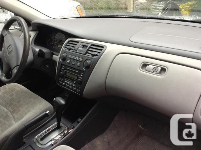 2001 fully loaded  Honda accord