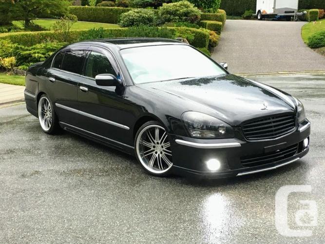 2001 Nissan Cima Jdm Infiniti Q45 Vip Sedan 100kms Rhd For Sale