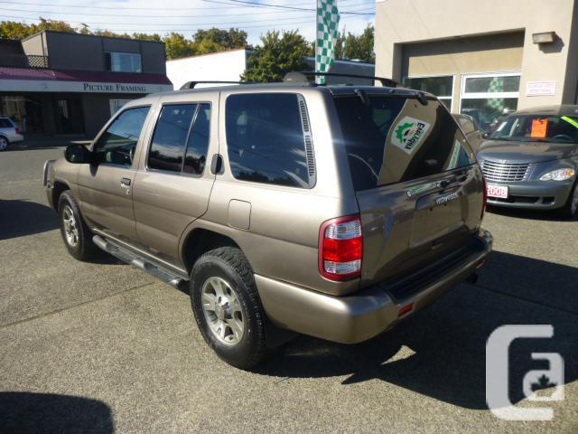 2001 nissan pathfinder le for sale in victoria british columbia classifieds. Black Bedroom Furniture Sets. Home Design Ideas