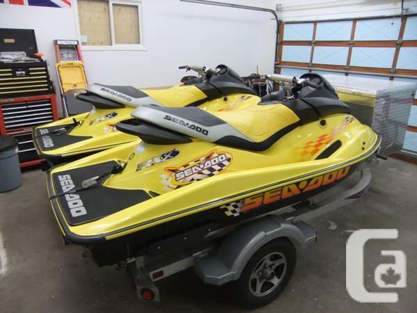 2001 RXX SEA-DOO'S - $6500