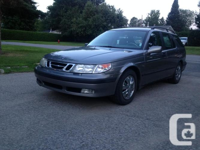 2001 saab 9 5 turbo for sale in gatineau quebec. Black Bedroom Furniture Sets. Home Design Ideas