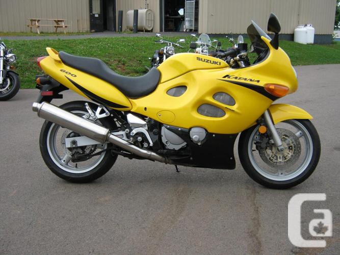 2001 Suzuki Katana 600 - SUPER CLEAN!! for sale in York ...