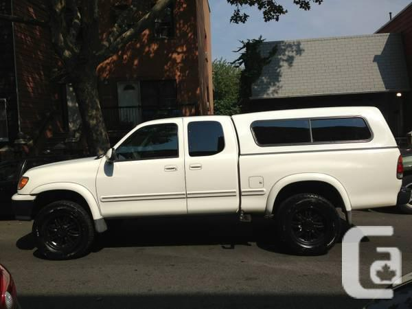 2001 toyota tundra 4x4 ltd access cab for sale in windsor ontario classifieds. Black Bedroom Furniture Sets. Home Design Ideas