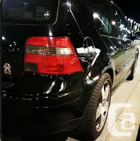 2001 VW GTI - Black - $8000
