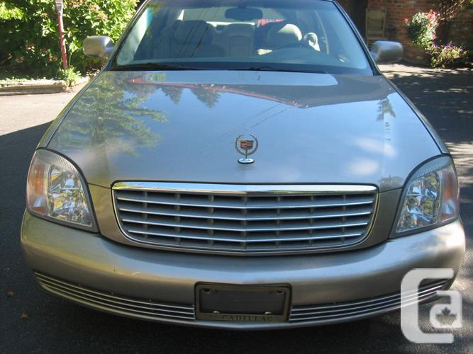 2002 cadillac deville for sale in cassidy british columbia classifieds. Black Bedroom Furniture Sets. Home Design Ideas