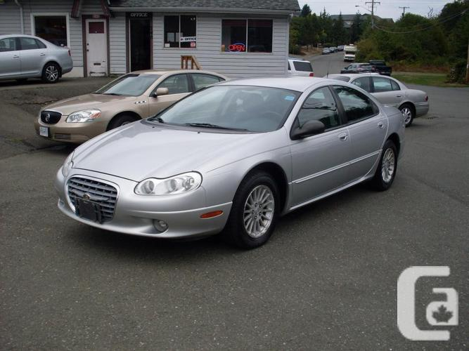 2002 chrysler concorde inventory 2691 for sale in courtenay british. Cars Review. Best American Auto & Cars Review
