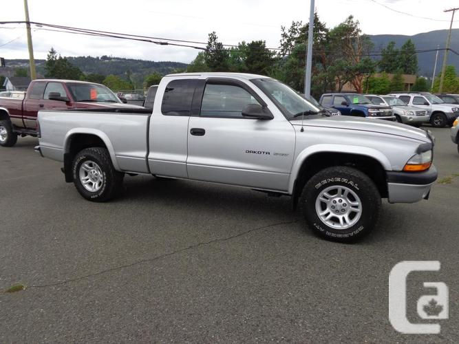 2002 dodge dakota extracab 4x4 for sale in nanaimo. Black Bedroom Furniture Sets. Home Design Ideas
