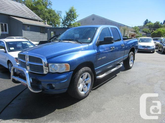 2002 Dodge Ram 1500 SLT QUAD CAB 4X4 for sale in