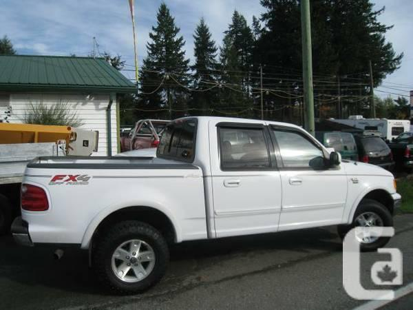 2002 ford f 150 king ranch supercrew short bed 4wd nice for sale in vancouver british. Black Bedroom Furniture Sets. Home Design Ideas