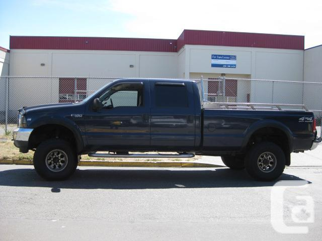 2002 ford f350 crew cab lariat v10 for sale in victoria british columbia classifieds. Black Bedroom Furniture Sets. Home Design Ideas