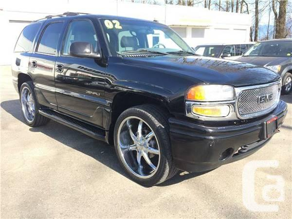2002 gmc denali for sale in abbotsford british columbia. Black Bedroom Furniture Sets. Home Design Ideas