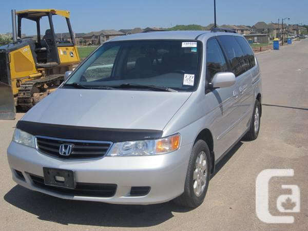 2002 Honda Odyssey Ex - $3999