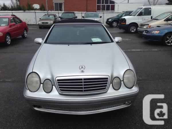 2002 mercedes benz clk 430 amg convertible for sale in montreal quebec classifieds. Black Bedroom Furniture Sets. Home Design Ideas
