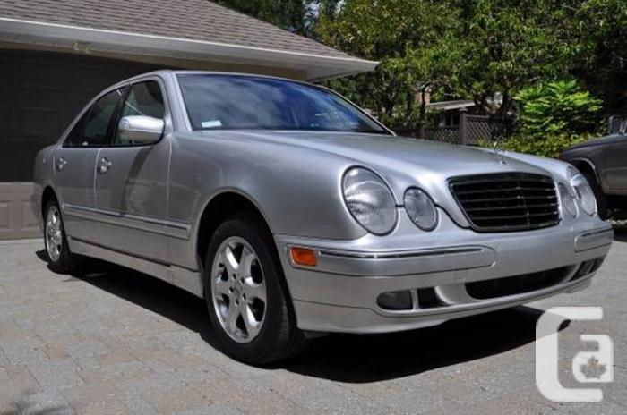 2002 Mercedes E320 4matic. (3.2 ltr V6, 5 speed auto)