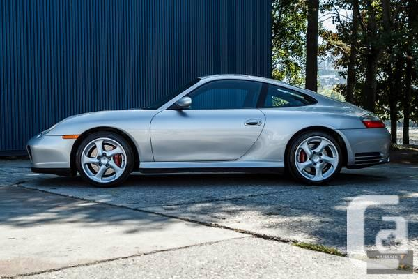 2002 Porsche 911 C4S Coupe 6-Rate Manual - $35900