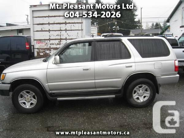 2002 toyota 4runner sr5 4wd needs new owner for sale in edmonton alberta classifieds. Black Bedroom Furniture Sets. Home Design Ideas