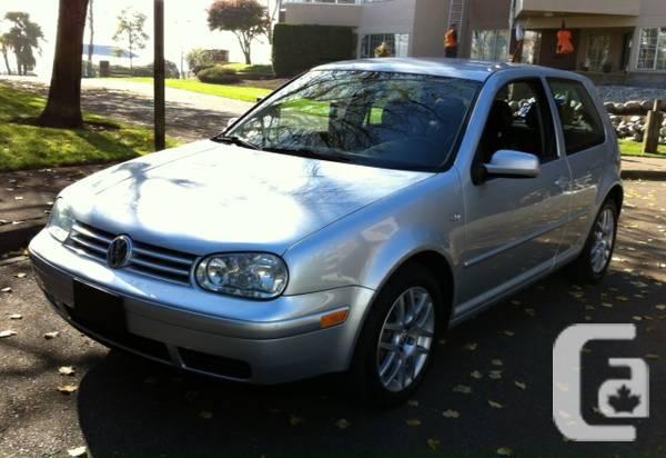 2002 VOLKSWAGEN GTI 1.8T - $5995