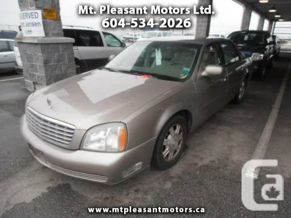 2003 Cadillac DeVille Sedan - Call to Schedule your