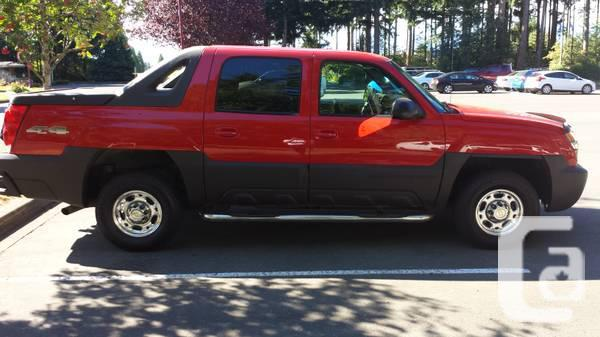 2003 chevrolet avalanche for sale in courtenay british. Black Bedroom Furniture Sets. Home Design Ideas
