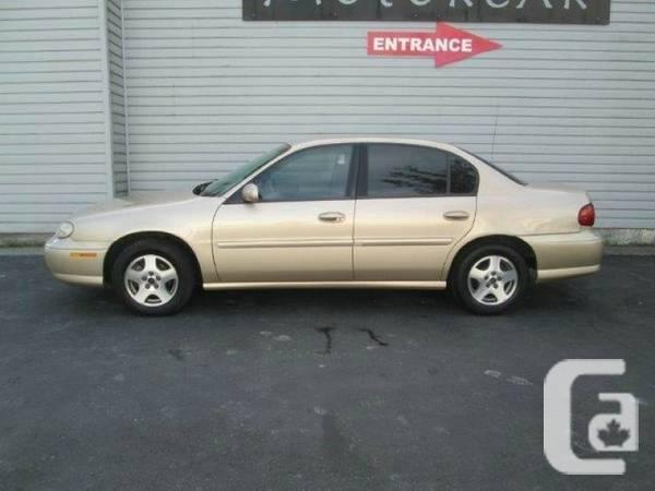 2003 Chevrolet Malibu - $3900