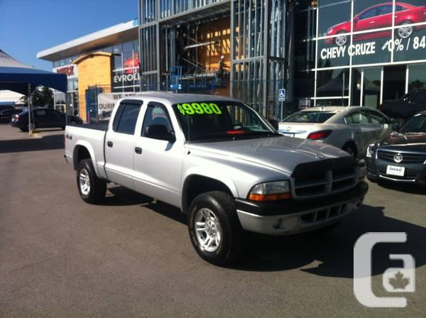 2003 Dodge Dakota crew cab 4X4 - $8980