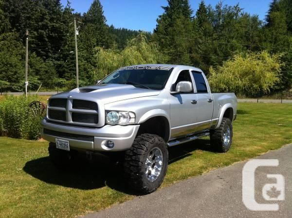 2003 dodge ram 1500 hemi lifted 37 inch tires for sale or trade for sale in abbotsford. Black Bedroom Furniture Sets. Home Design Ideas