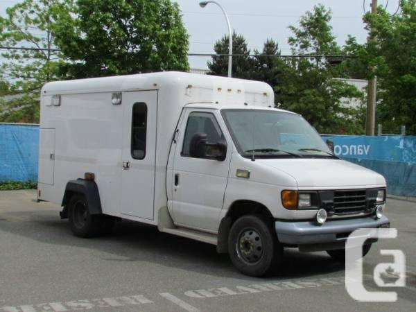 2003 ford e350 box van for sale for sale in nanaimo british columbia classifieds. Black Bedroom Furniture Sets. Home Design Ideas