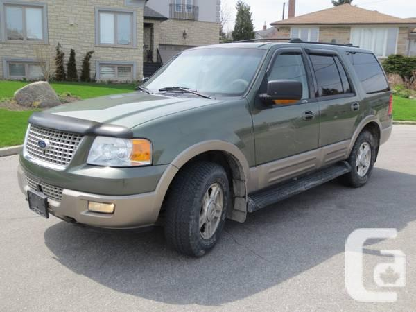 2003 Ford Expedition Eddie Bauer FULL LOADED - $3900