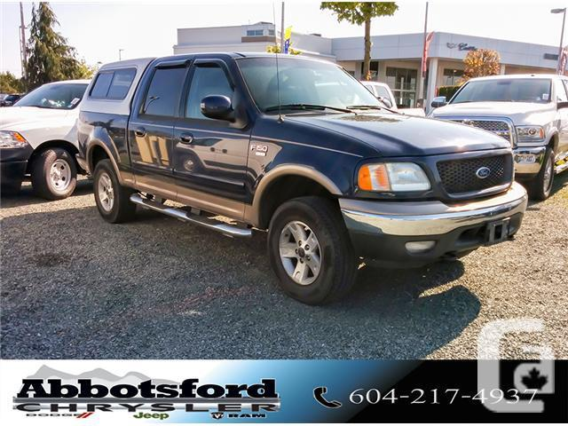 2003 Ford F 150 Supercrew Xlt W Leather Upholstery Adjustable