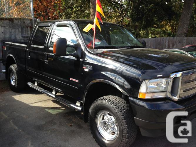2003 ford f350 crew cab for sale in sooke british. Black Bedroom Furniture Sets. Home Design Ideas