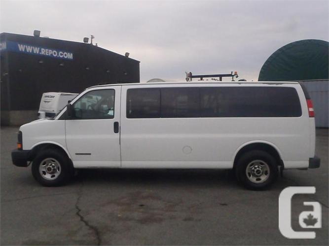 e0c95a70f755da 2003 GMC Savana G3500 Extended 15 Passenger Van for sale in Salmo ...