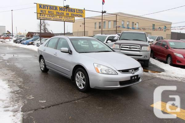 2003 Honda Accord EX---Khyber Motors LTD - $6450
