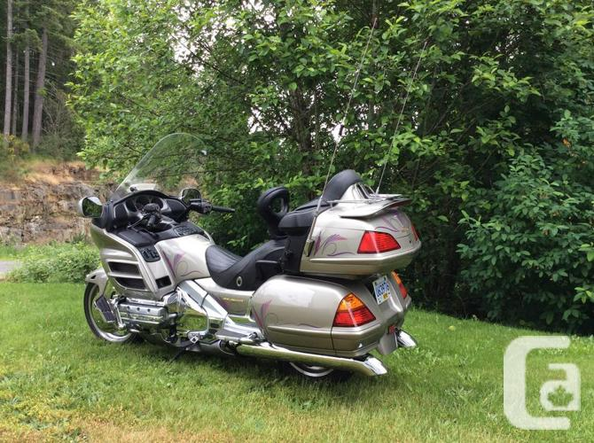 2003 Honda Goldwing 15,395 kms