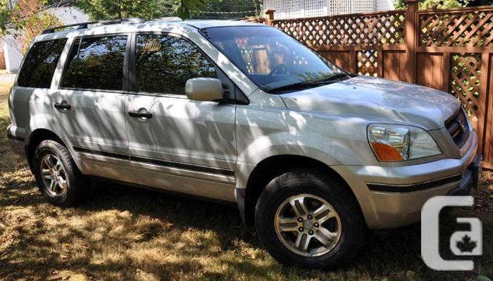 2003 honda pilot awd for sale in coombs british columbia classifieds. Black Bedroom Furniture Sets. Home Design Ideas