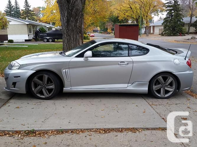 2003 Hyundai Tiburon Gt Coupe For Sale In Pilot Butte