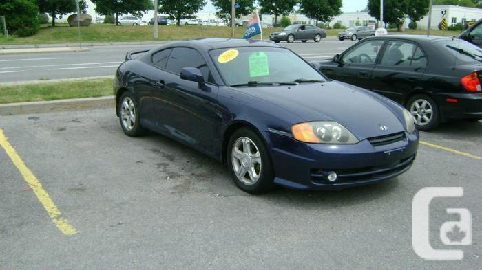 2003 hyundai tiburon leather sunroof for sale in. Black Bedroom Furniture Sets. Home Design Ideas