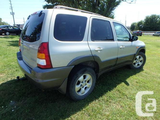 2003 Mazda Tribute LX V6 AWD