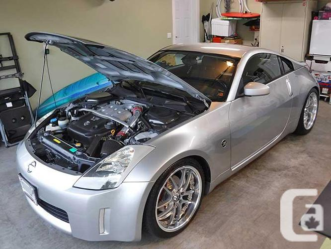 2003 Nissan 350Z Touring package with NISMO upgrades
