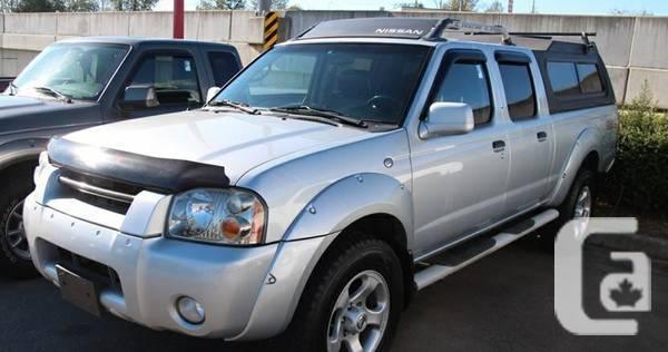 2003 Nissan Frontier SC V6 Truck Crew Cab